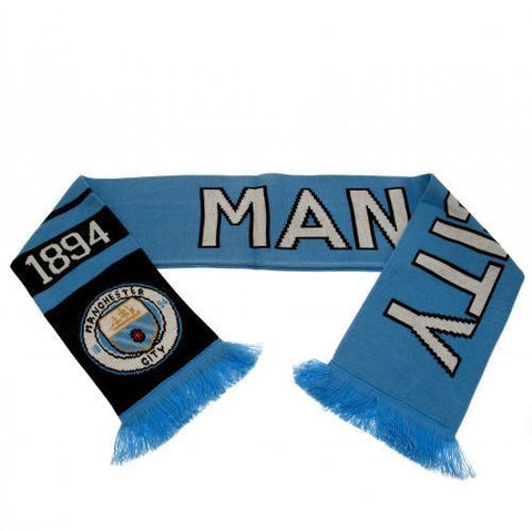Cachecol Manchester City FC Dupla Face Since 1894