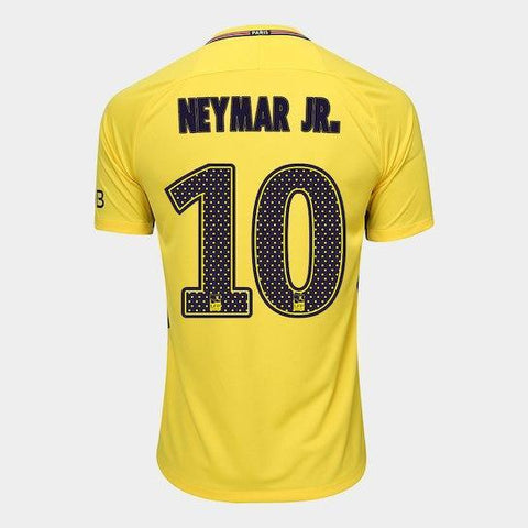 1b839b48fa 1 review. Camisa Paris Saint Germain Away 17 18- Nº 10 Neymar Jr Torcedor  Nike Masculina