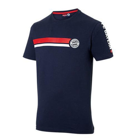 Camiseta Bayern De Munique Casual Azul