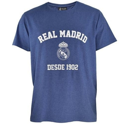 Camiseta Real Madrid Charcoal Blue