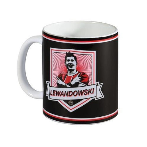 Caneca Bayern De Munique Lewandowski