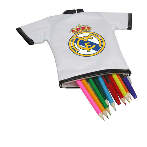 Estojo Real Madrid Camiseta Branca