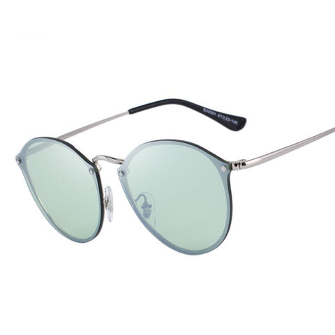 Fame Retro Oval Sunglasses