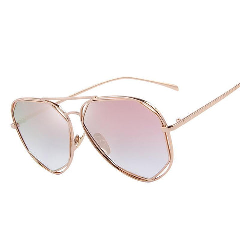 Fame Twin-Beams Coating Mirror Sunglasses