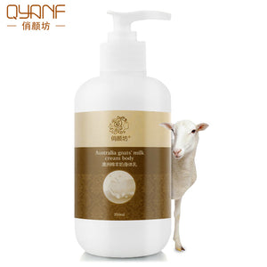 QYF Australia sheep milk body lotion moisturizing hydrating whitening repair skin body care skin care bleaching cream