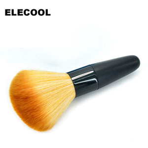 ELECOOL 1Pc Beauty Women Powder Brush Single Soft Face Cosmetic Makeup Brush Big Loose Shape maquiagem Hot Selling