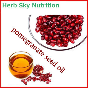 100% Natural&Pure Pomegranate Seed Oil with Free Shipping, Virgin oil antioxidation& vitamin C supplement