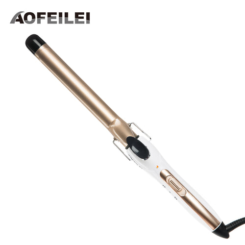 2017 New Electric Hair Brush Digital Temperature Control Styling Tools Hair Curling Iron Curler Styler Fit For Men Women Short