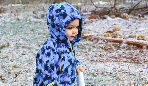 Landon in the snow