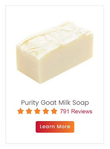 Unscented Purity Goat Milk Soap