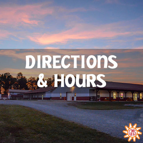 Directions and hours to goat milk stuff