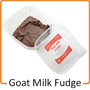 goat milk fudge