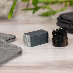 goat milk soap activated bamboo charcoal travel