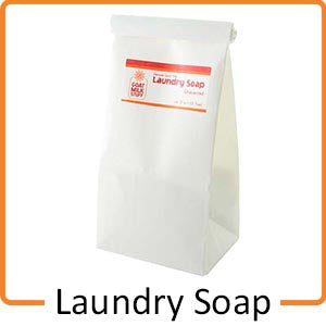 laundry goat milk soap