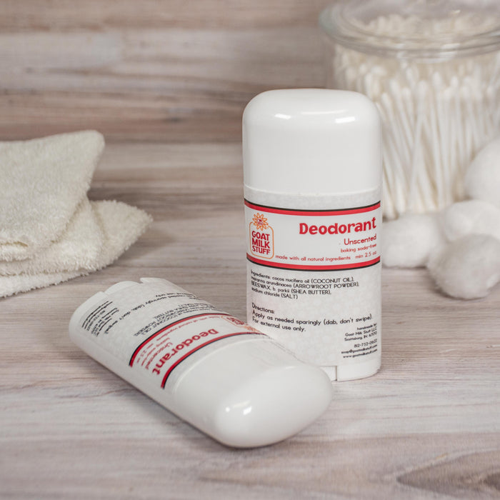 Unscented Baking Soda Free Deodorant