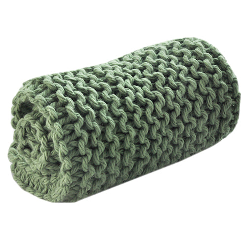 washcloth green
