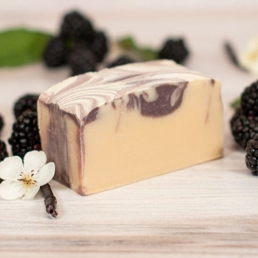 goat milk soap black raspberry mega