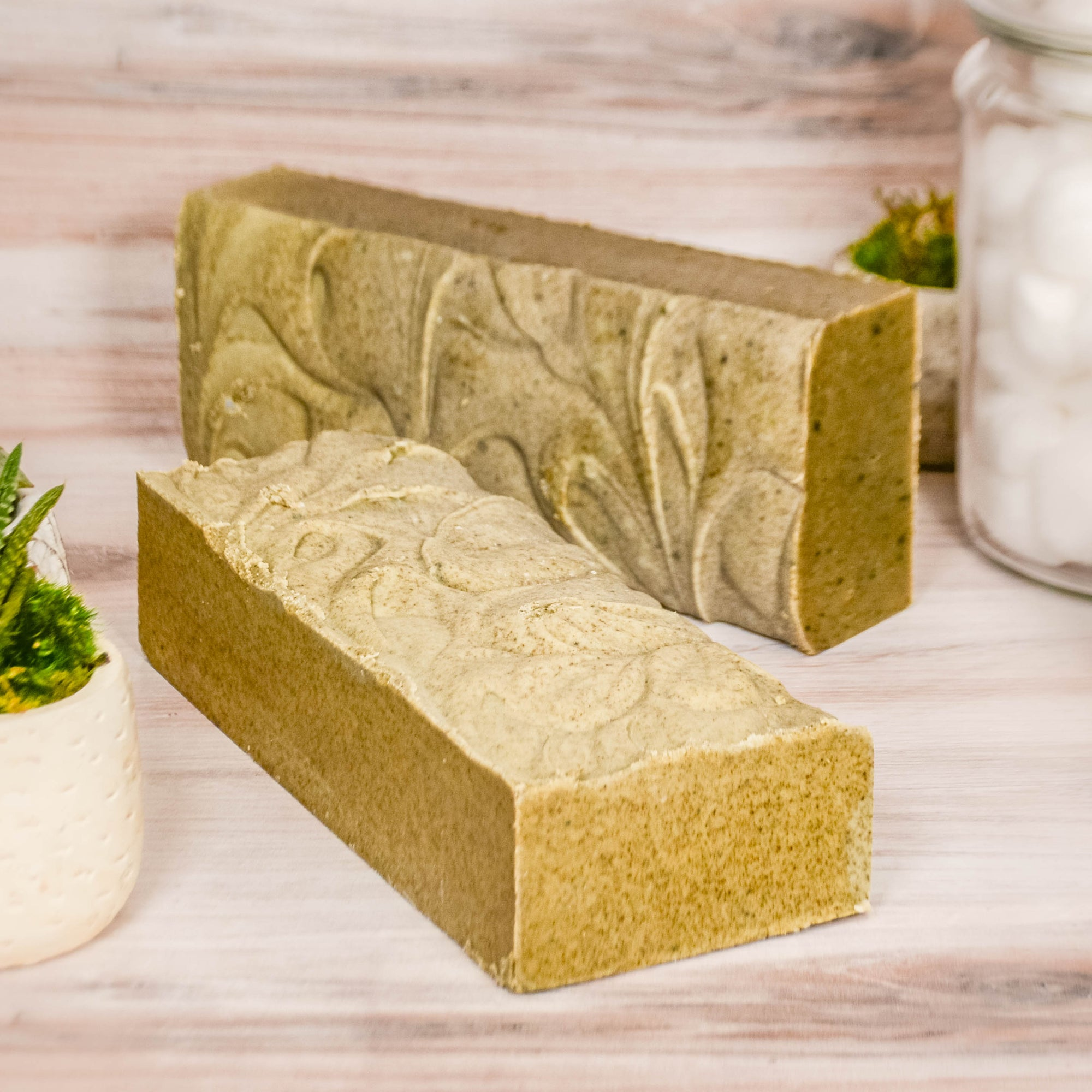 goat milk soap logs