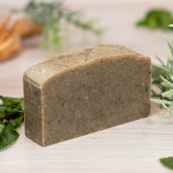 goat milk soap shampoo rosemary mint standard