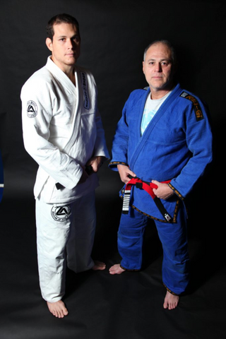 Roger Gracie & his father Mauricio Gomes were instrumental in bringing jiu jitsu to Europe