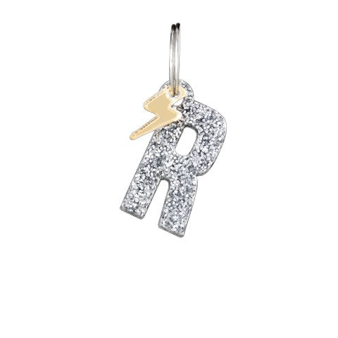 Alpha Initial Charm Silver