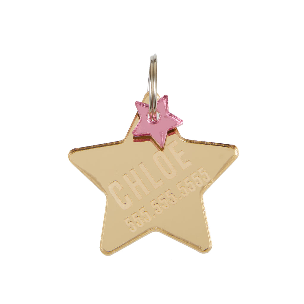 Personalized Star Tag
