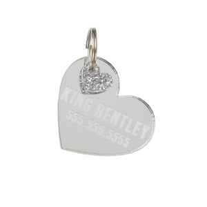 Personalized Heart Tag