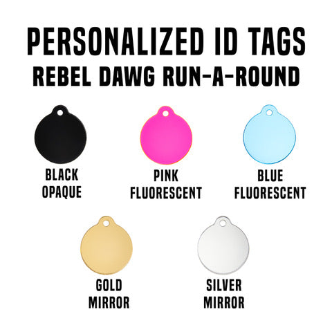 Personalized Circle Tag
