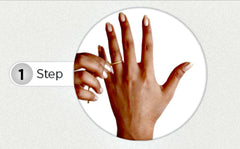 How to find your ring size method 1 step 1