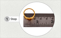 How to find your ring size method 2
