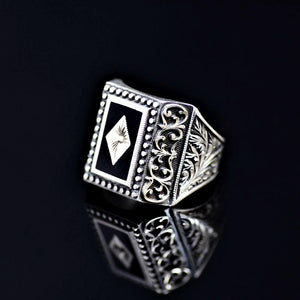 Masterpiece Silver Ring Of Outstanding Turkish Silver Workmanship Right