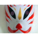 Hand- painted Fox Mask Endulge Japanese Full Face PVC Halloween Animal Mask Masquerade Cosplay Party Masks Free Shipping