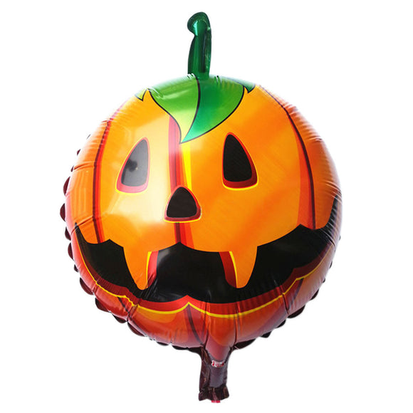 New Arrived Halloween pumpkin head Decorative Foil Balloons Scary Costumes Halloween Supplies Fontes do Dia das Bruxas Hot Sale