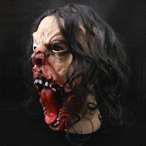 2017 Halloween Costume Scary Bloody Head Halloween Decoration Props Horrible Decora O Vinyl Pig Cosplay Party Mask