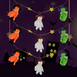 Ghosts Halloween Bunting Decorations Halloween Ghosts Wall Hanging Home Decor
