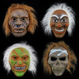 2017 New Halloween Horror Ghost Mask Savage Skull Scar Mask A Variety Of PVC Fur Mask Halloween Supplies Maschera di Halloween