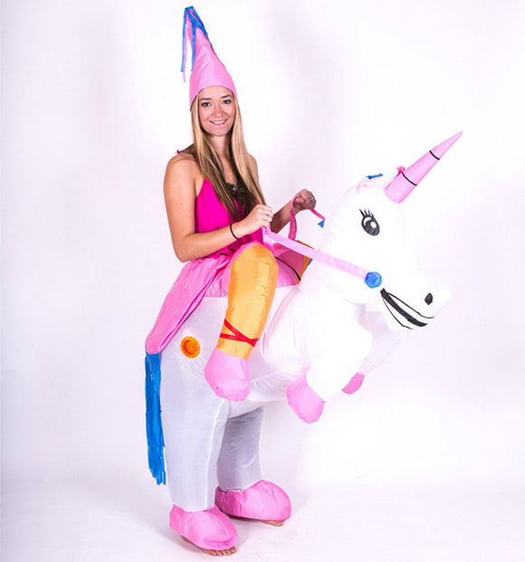 Inflatable Costume Unicorn Cosplay Rider Costumes Party Cosplay Funny Party Dress