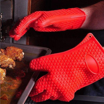 Chef Mitts™ - Heat Resistant Cooking Glove
