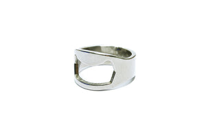 BFlowerYan Pack of 20 Stainless Steel Ring Bottle Opener