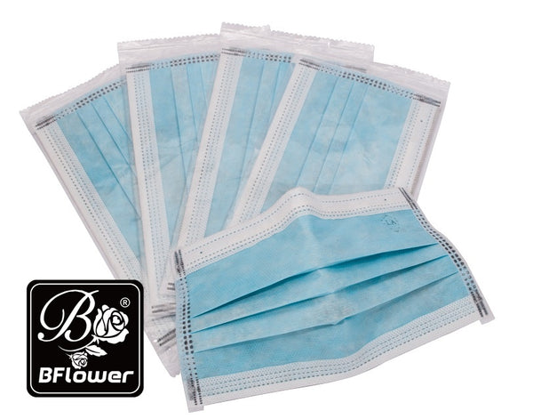 BFlower Four Layer Disposable Charcoal Activated Carbon Mask Filter-20 Pieces  (Each Piece Is Individually Packed)