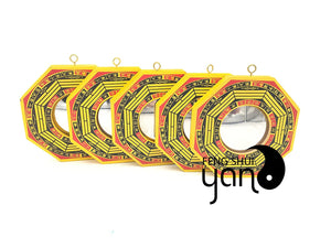 FengShuiYan Pack of 5 Chinese Feng Shui Bagua Mirror