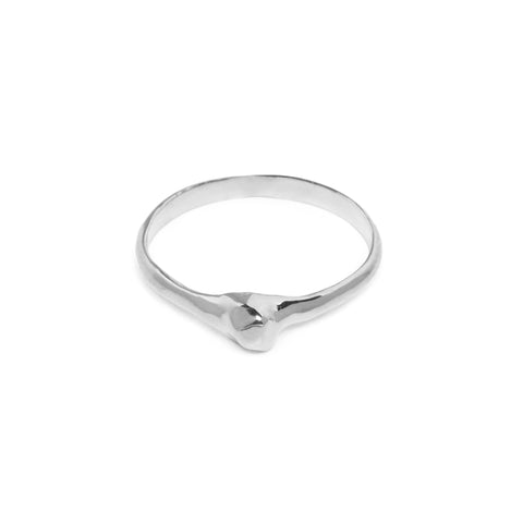 READY TO SHIP | NUGGET MIDI RING | SILVER