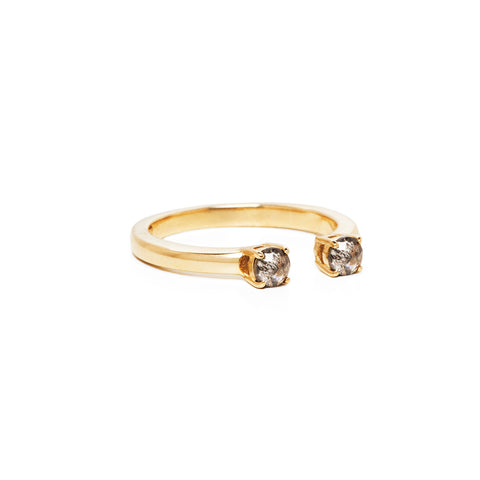 PASSAGE RING | 14k GOLD & GALAXY DIAMONDS
