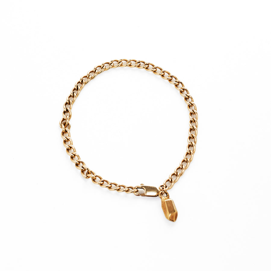 IN STOCK | CLASSIC NUGGET BRACELET | YELLOW GOLD VERMEIL