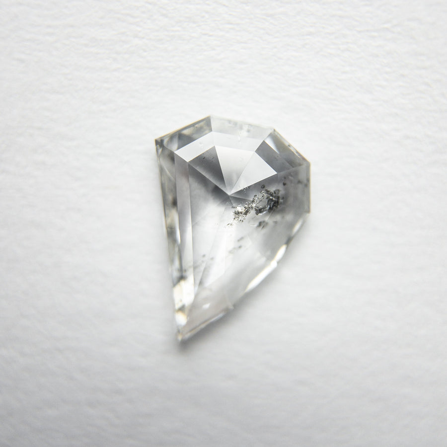 0.98ct 9.37x6.33x2.23mm Amorphous Geo Rosecut 18117-12