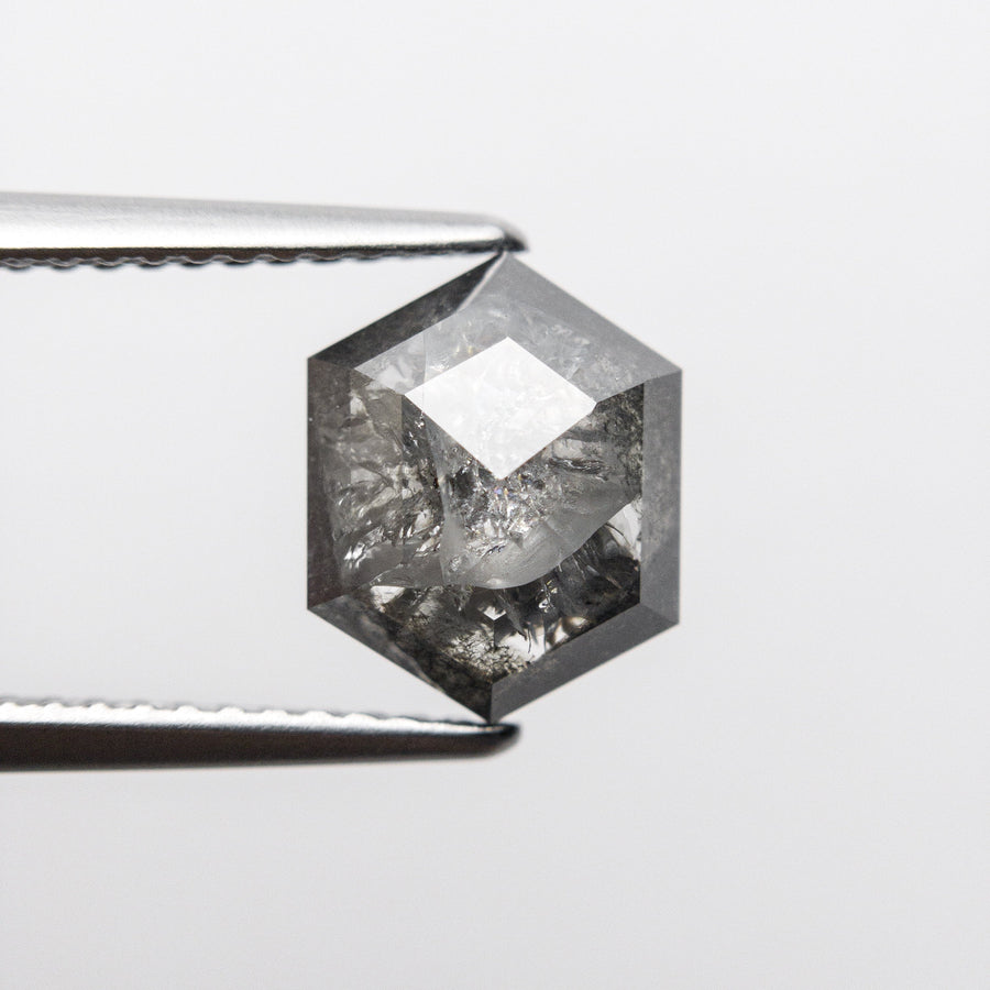 2.64ct 9.49x7.56x4.24mm Hexagon Rosecut 18407-06