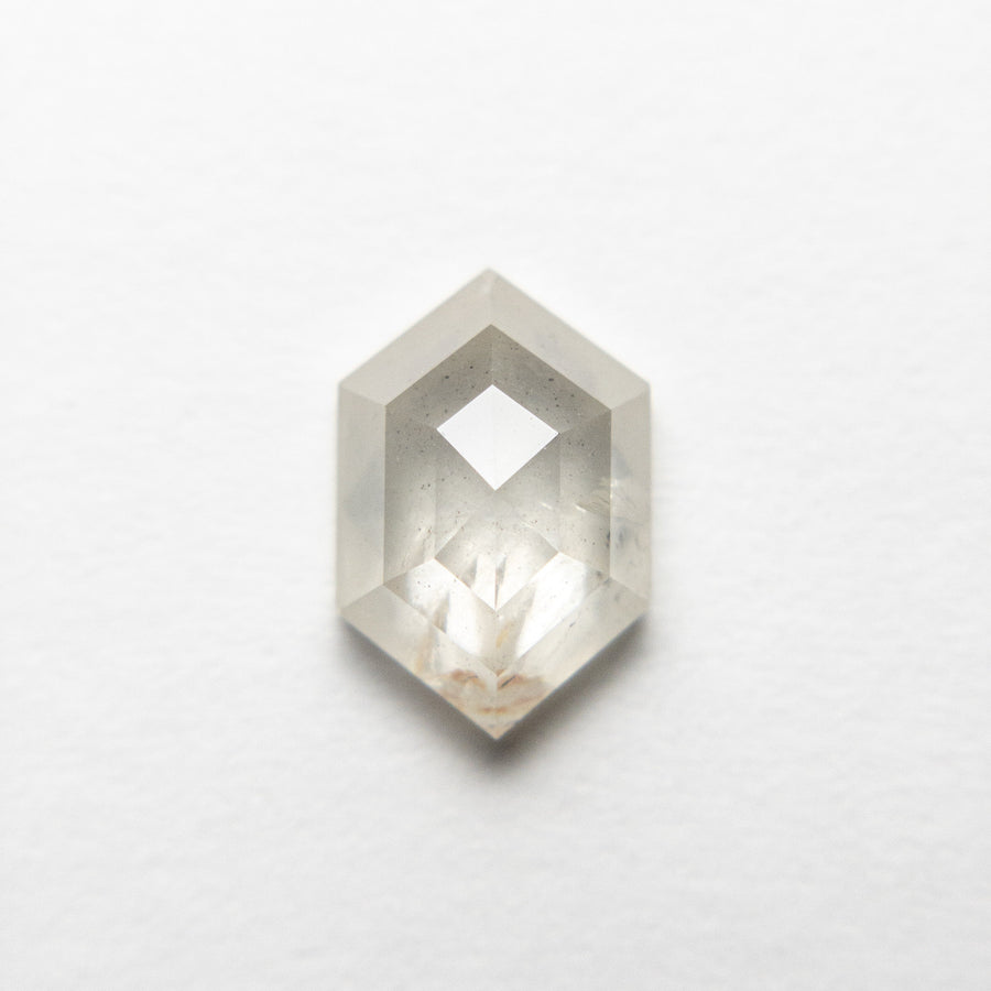 1.54ct 9.02x6.04x3.40mm Hexagon Rosecut 18455-06