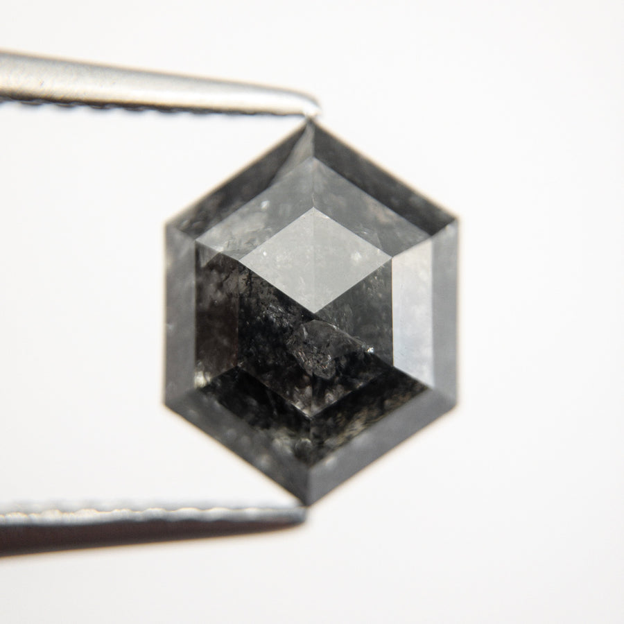 3.08ct 10.68x8.21x4.31mm Hexagon Rosecut 18484-02