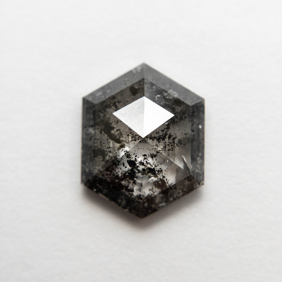 2.68ct 10.51x8.19x3.68mm Hexagon Rosecut 18505-10