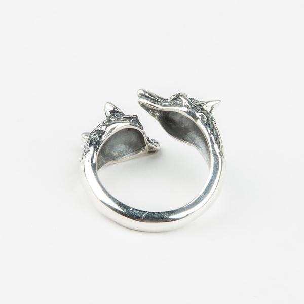READY TO SHIP | WOLF PACK RING I SILVER - AngelaMonacojewelry